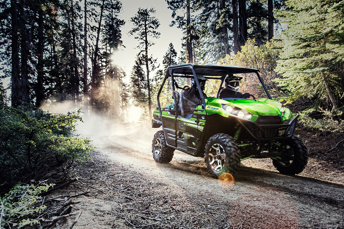 2017 Kawasaki Teryx LE in Mount Pleasant, Michigan