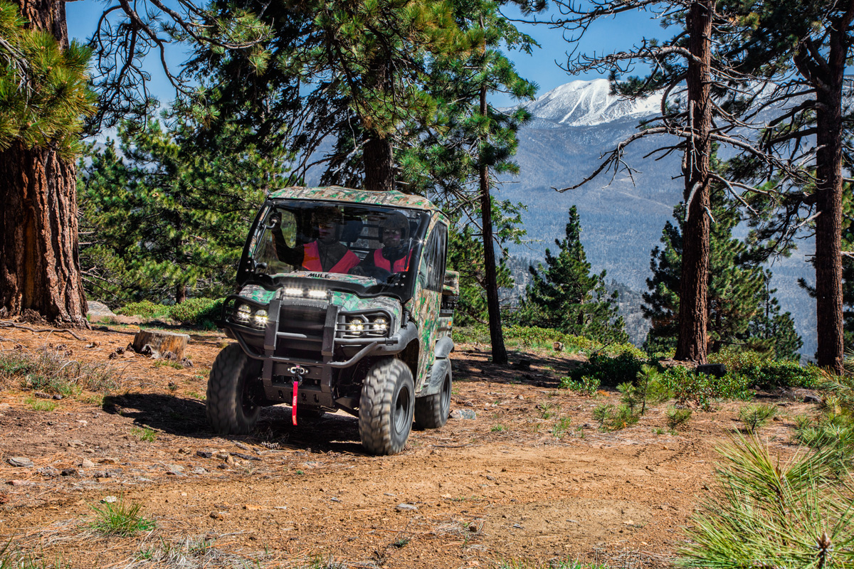 2018 Kawasaki Mule SX 4X4 XC CAMO in Bellevue, Washington
