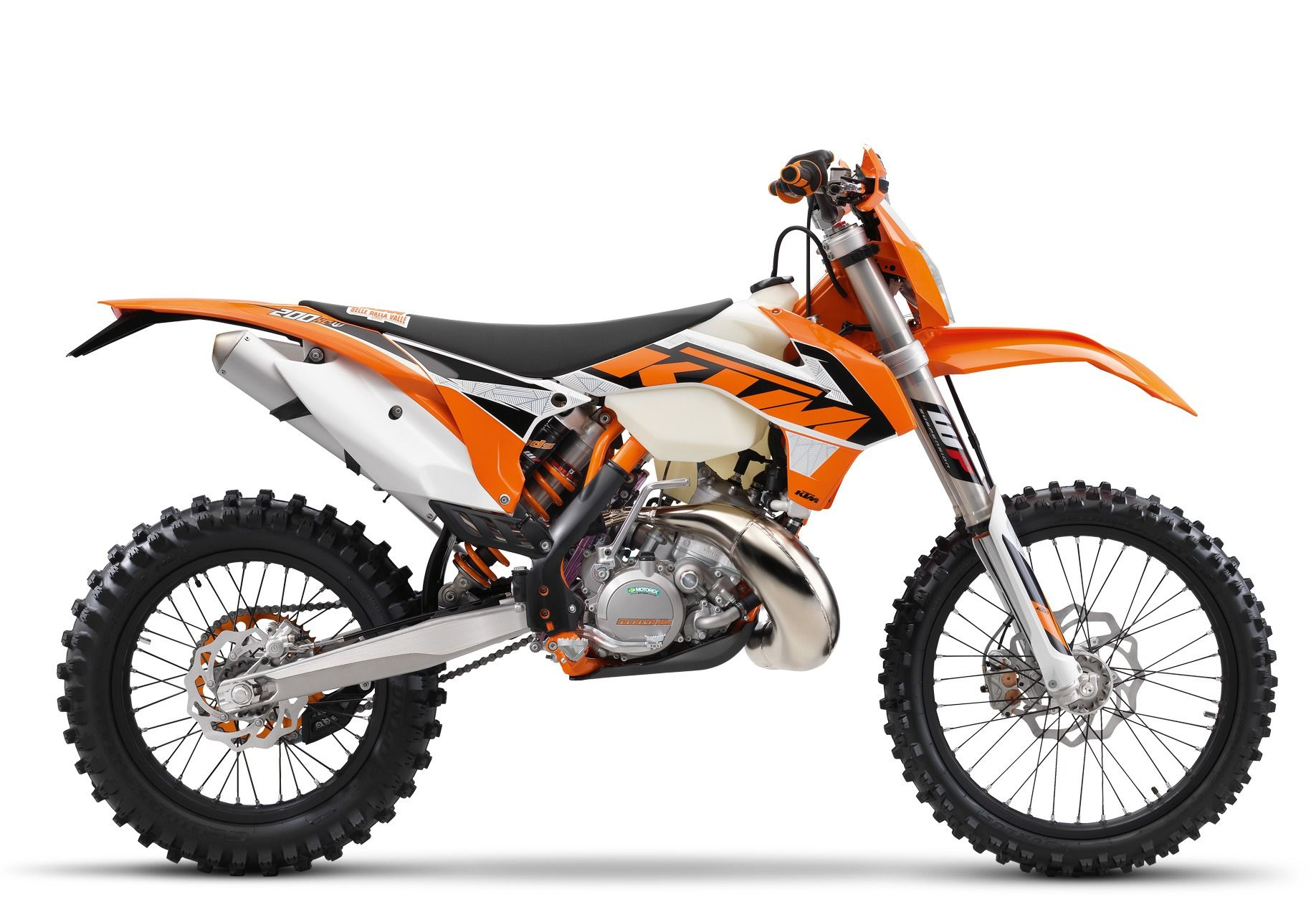 2016 KTM 200 XC-W in Orange, California