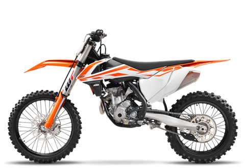 2017 KTM 250 SX-F in Grass Valley, California