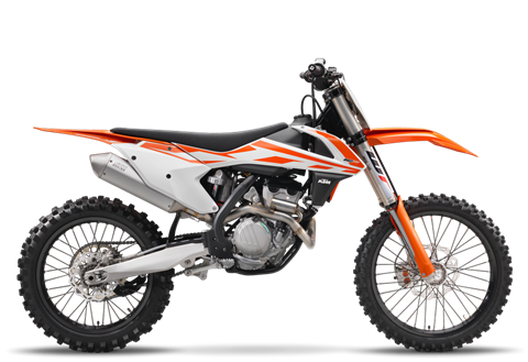 2017 KTM 250 SX-F in North Mankato, Minnesota