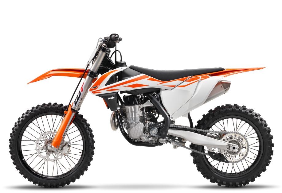 2017 KTM 450 SX-F in Grass Valley, California