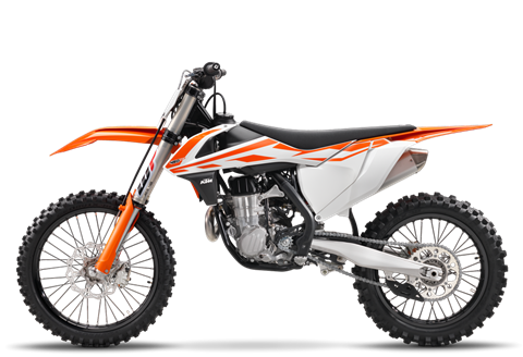 2017 KTM 450 SX-F in Chippewa Falls, Wisconsin