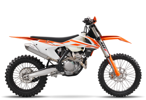 2017 KTM 250 XC-F in Port Angeles, Washington