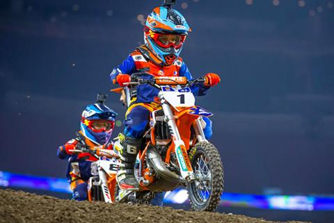 2020 KTM 50 SX Mini in Johnson City, Tennessee - Photo 2