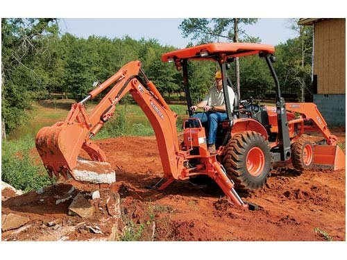 2017 Kubota Tractor/Loader/Backhoe (B26TLB Tractor) in Fairfield, Illinois