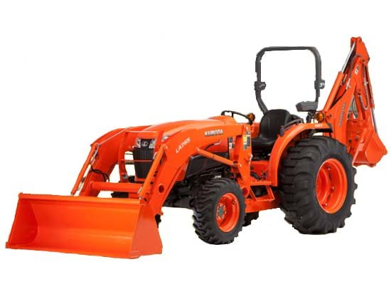 2017 Kubota Compact Tractor with GDT 4WD (L4701) in Fairfield, Illinois