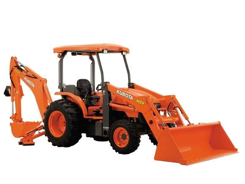 2017 Kubota Tractor/Loader/Backhoe (M62TLB Tractor) in Fairfield, Illinois