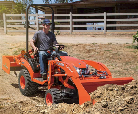 2017 Kubota Sub-Compact Tractor (BX23S) in Fairfield, Illinois