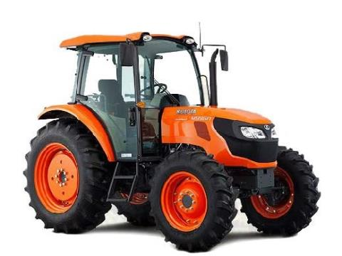 2017 Kubota Mid-Size 2WD Tractor with Cab (M9960 HFC) in Santa Fe, New Mexico