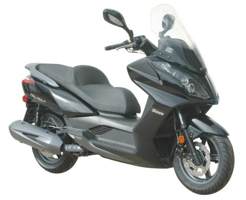 2016 Kymco Downtown 300i in Gonzales, Louisiana