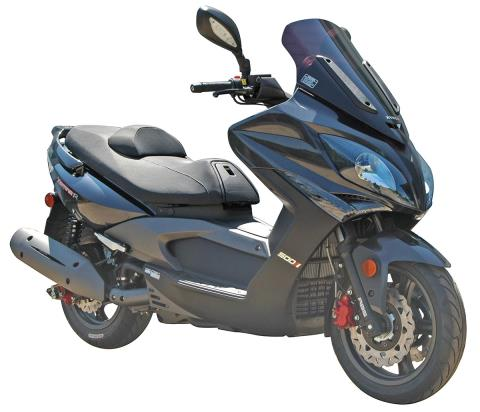 2016 Kymco Xciting 500 Ri ABS in Gonzales, Louisiana
