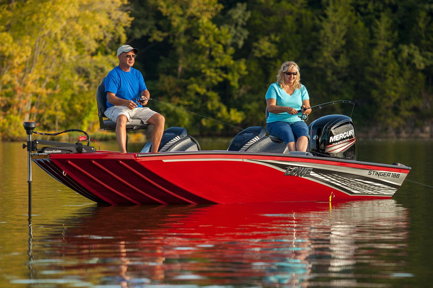 2017 Lowe Stinger 188 Dual Console in Holiday, Florida