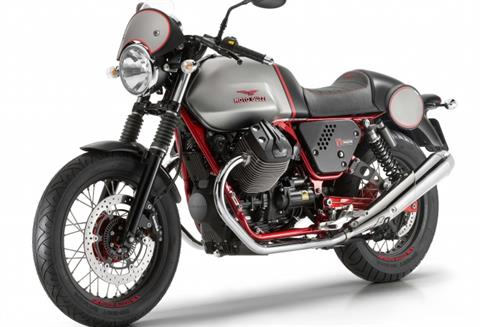 2016 Moto Guzzi V7 II Racer ABS in New Haven, Connecticut