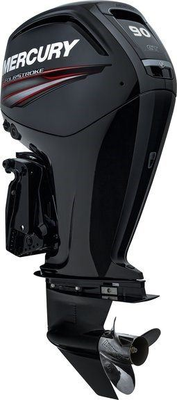 2015 Mercury Marine 90 hp Command Thrust FourStroke 20 in Shaft in Mount Pleasant, Texas