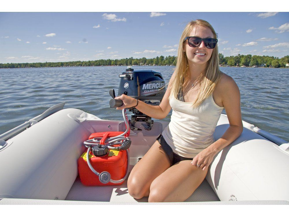 2016 Mercury Marine 5 hp FourStroke (25 in) in Trego, Wisconsin