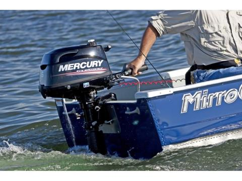2016 Mercury Marine 5 hp FourStroke (25 in) in Goldsboro, North Carolina