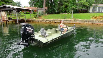 2016 Mercury Marine 80 hp EFI Jet FourStroke in Trego, Wisconsin