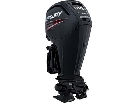 2017 Mercury Marine 80 hp EFI Jet FourStroke in Mount Pleasant, Texas