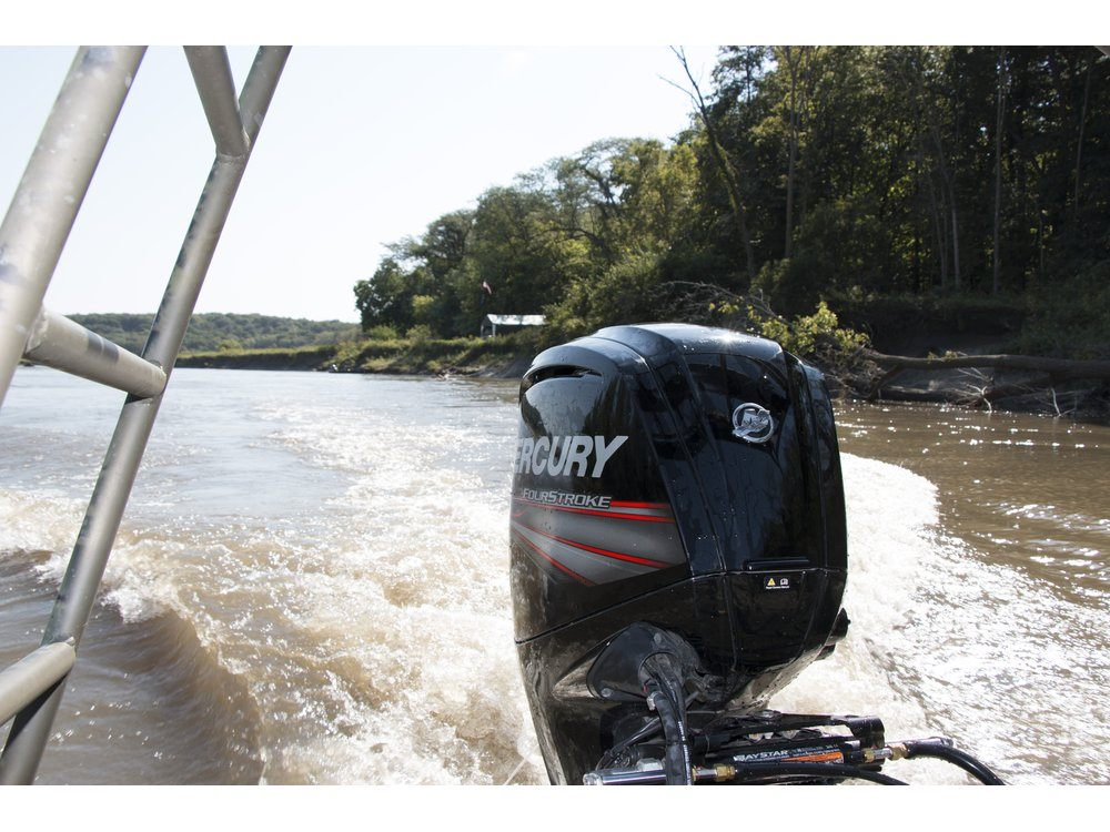 2017 Mercury Marine 90 hp Command Thrust FourStroke in Littleton, New Hampshire