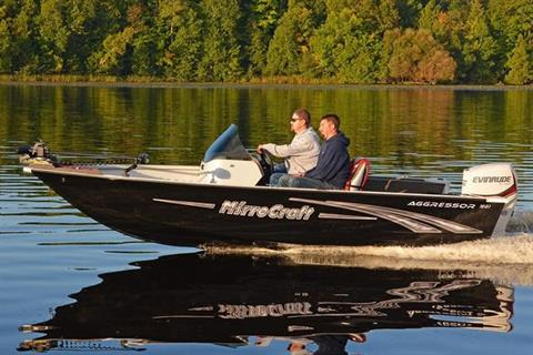 2017 MirroCraft 1661 Aggressor in Tomahawk, Wisconsin
