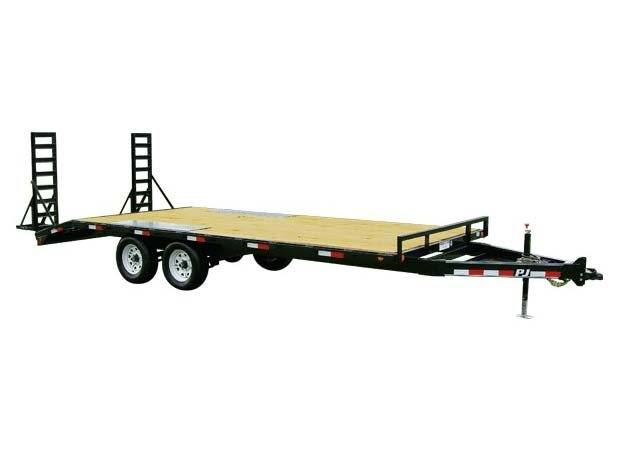 2017 PJ Trailers Medium Duty Deckover 6 in. Channel (L6) in Kansas City, Kansas