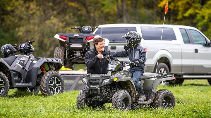 2016 Polaris Outlaw 110 EFI in Ferrisburg, Vermont