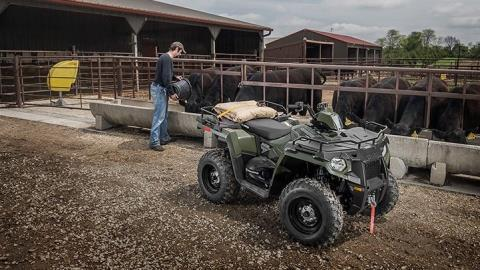 2016 Polaris Sportsman 450 H.O. in El Campo, Texas