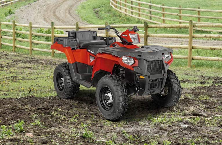 2016 Polaris Sportsman X2 570 EPS in Red Wing, Minnesota