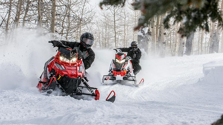 2016 Polaris 800 RUSH PRO-S ES in Mount Pleasant, Michigan