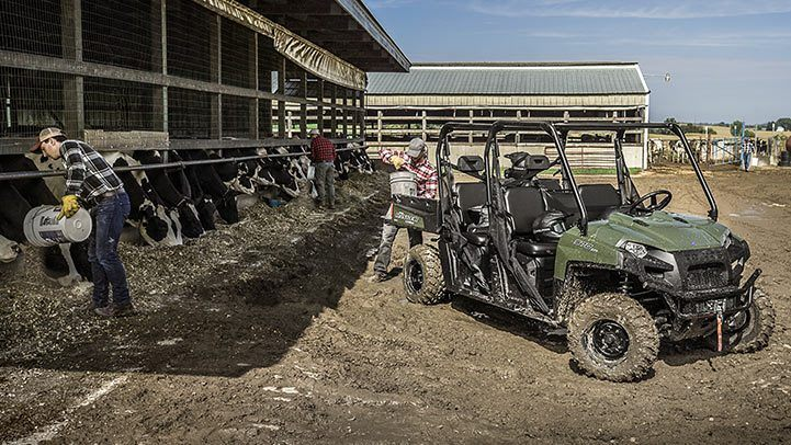2016 Polaris Ranger Crew 570-6 in Auburn, California