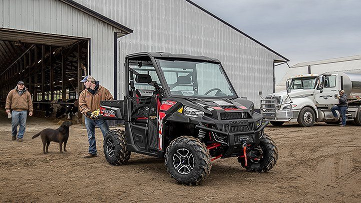 2016 Polaris Ranger XP 900 EPS in Auburn, California