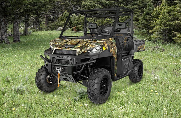 2016 Polaris Ranger XP 900 EPS Hunter Deluxe Edition in Pierceton, Indiana