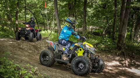2017 Polaris Outlaw 50 in Chesterfield, Missouri