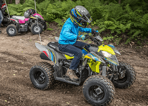 2017 Polaris Outlaw 50 in Auburn, California
