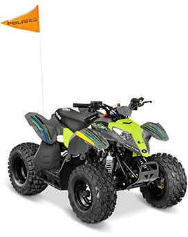2017 Polaris Outlaw 50 in Chicora, Pennsylvania