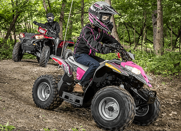 2017 Polaris Outlaw 50 in Irvine, California