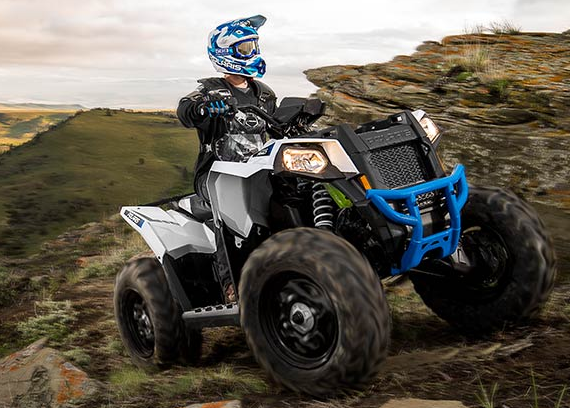 2017 Polaris Scrambler 850 in Utica, New York