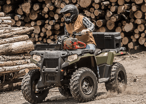 2017 Polaris Sportsman 570 EPS in Saint Johnsbury, Vermont