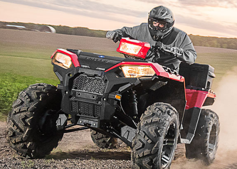 2017 Polaris Sportsman 850 in Jones, Oklahoma