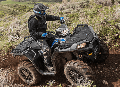 2017 Polaris Sportsman 850 SP in Calmar, Iowa