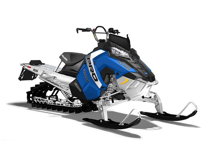 2017 Polaris 600 PRO-RMK 155 ES in Mount Pleasant, Michigan