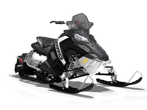 2017 Polaris 600 RUSH PRO-S ES in Center Conway, New Hampshire