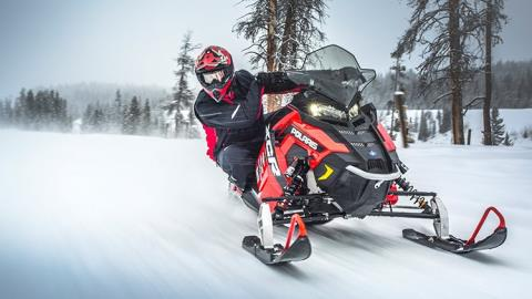 2017 Polaris 600 RUSH XCR in Mount Pleasant, Michigan