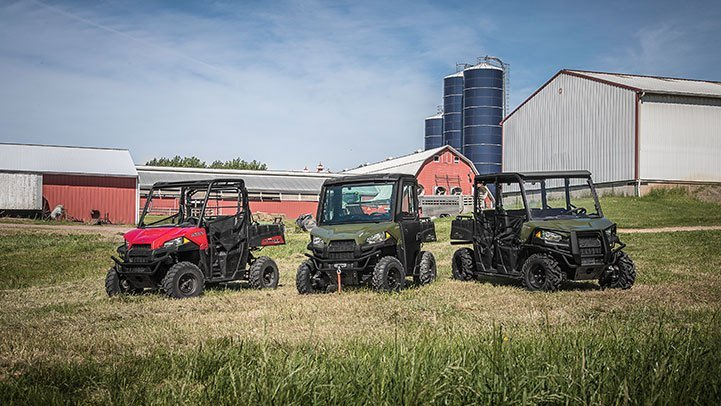 2017 Polaris Ranger 500 in Chesterfield, Missouri