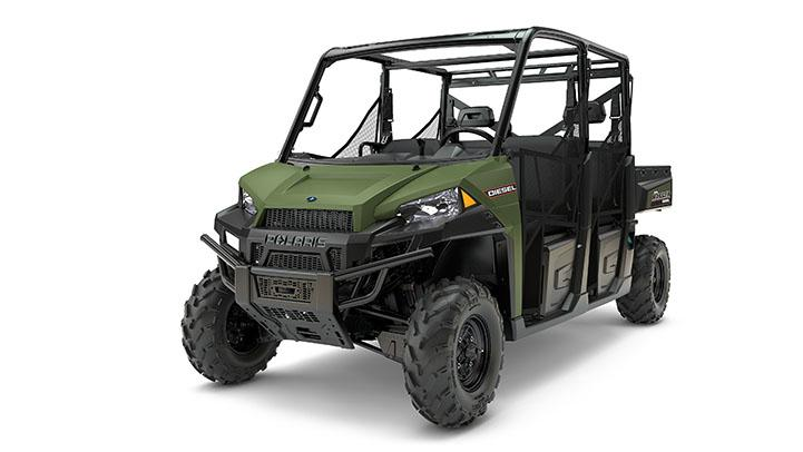 2017 Polaris Ranger Crew Diesel in Brighton, Michigan