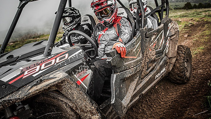 2017 Polaris RZR 4 900 EPS in Center Conway, New Hampshire