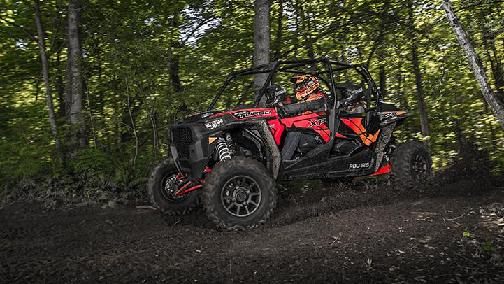 2017 Polaris RZR XP 4 Turbo EPS in Mount Pleasant, Michigan