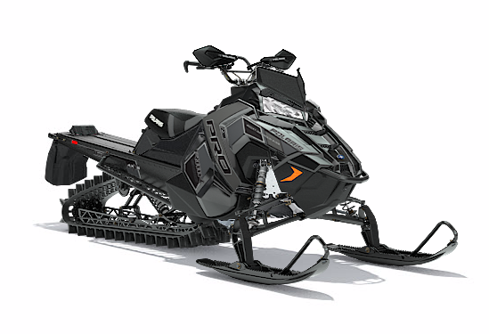 2018 Polaris 800 PRO-RMK 163 3 in. SnowCheck Select in Newport, Maine