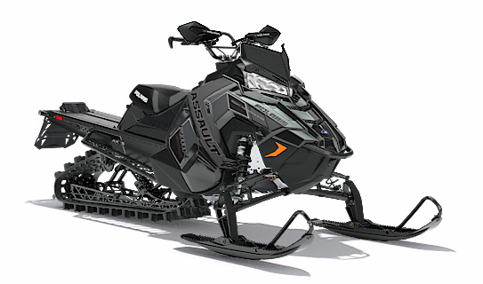 2018 Polaris 800 RMK Assault 155 SnowCheck Select in Center Conway, New Hampshire